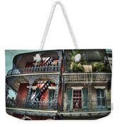New Orleans Balconies No. 4 Weekender Tote Bag