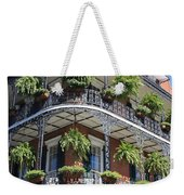 New Orleans Balcony Weekender Tote Bag
