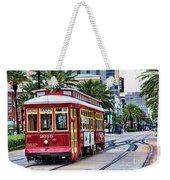 New Orleans Canal Streetcars  Weekender Tote Bag