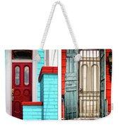 New Orleans Doorways Diptych One Weekender Tote Bag