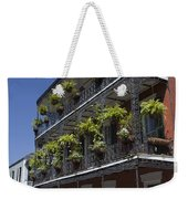 New Orleans French Quarter Weekender Tote Bag