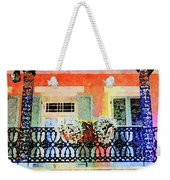 New Orleans French Quarter Balcony Weekender Tote Bag