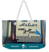 New Orleans Hatter Weekender Tote Bag