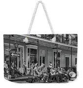 New Orleans Jazz 2 - Bw Weekender Tote Bag