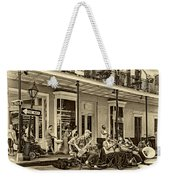 New Orleans Jazz 2 - Sepia Weekender Tote Bag