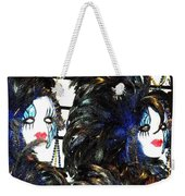New Orleans Masks Weekender Tote Bag