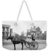 New Orleans: Milk Cart Weekender Tote Bag
