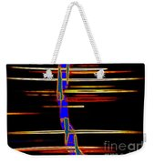New Orleans Neon Frequency Native American Indan Abstract 3 Weekender Tote Bag