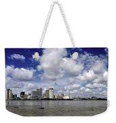 New Orleans Panoramic Weekender Tote Bag