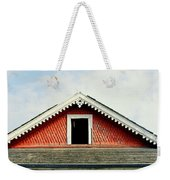 New Orleans Rooftop Architecture Fish Scales And Gingerbread Weekender Tote Bag