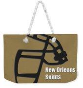 New Orleans Saints Retro Weekender Tote Bag