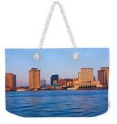 New Orleans Skyline From Algiers Point Weekender Tote Bag