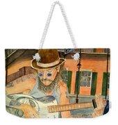New Orleans Street Musician Weekender Tote Bag