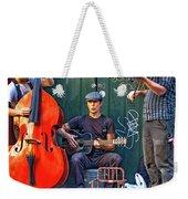 New Orleans Street Musicians Weekender Tote Bag