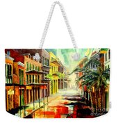 New Orleans Summer Rain Weekender Tote Bag