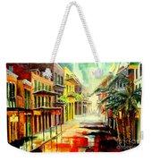 New Orleans Summer Rain Weekender Tote Bag