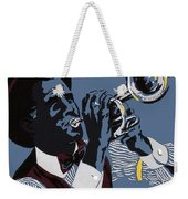 New Orleans, Trumpeter Weekender Tote Bag