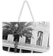 New Orleans Windows - Black And White Weekender Tote Bag