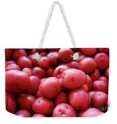 New Red Potatoes For Sale In A Market Weekender Tote Bag