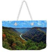 New River Gorge - Autumn Weekender Tote Bag