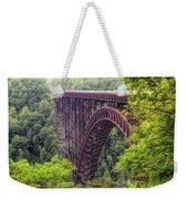 New River Gorge Bridge Weekender Tote Bag