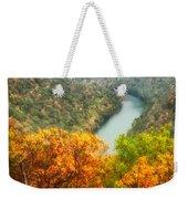 New River Gorge Wv Weekender Tote Bag