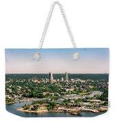 New Rochelle Beach Clubs Weekender Tote Bag