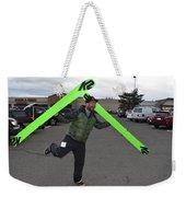 New Snow Jig... Weekender Tote Bag