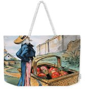 New Territories Cartoon Weekender Tote Bag