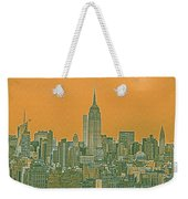 New Tork City Ny Travel Poster 4 Weekender Tote Bag