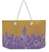 New Tork City Ny Travel Poster 5 Weekender Tote Bag