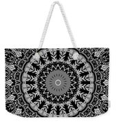 New Vision Black And White Weekender Tote Bag