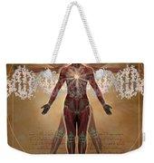 New Vitruvian Woman Weekender Tote Bag
