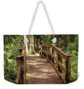 New Wood Bridge Park Trail Weekender Tote Bag