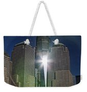New World Trade Center Weekender Tote Bag by David Smith
