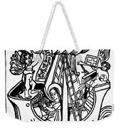New Year Card, 1450 Weekender Tote Bag