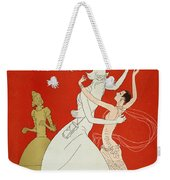 New Year: Magazine Cover Weekender Tote Bag