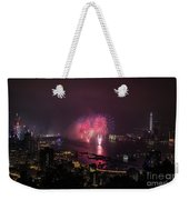 New Year's Eve Fireworks  Weekender Tote Bag
