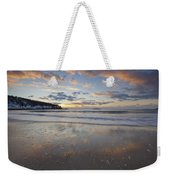 New Year's Morning On Sand Beach Weekender Tote Bag