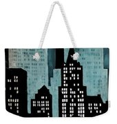New York Art Deco Weekender Tote Bag