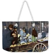 New York: Banana Cart Weekender Tote Bag