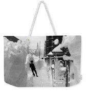 New York: Blizzard Of 1888 Weekender Tote Bag
