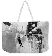 New York: Blizzard Of 1888 Weekender Tote Bag