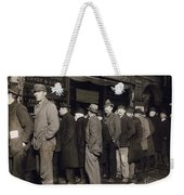 New York: Bread Line, 1907 Weekender Tote Bag
