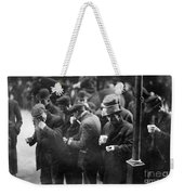 New York: Bread Line, 1915 Weekender Tote Bag