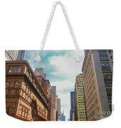 New York Buildings Weekender Tote Bag