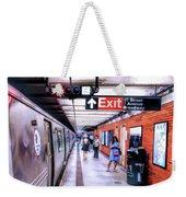 New York City Broadway Subway Station Weekender Tote Bag
