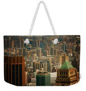 New York City Buildings And Skyline Weekender Tote Bag