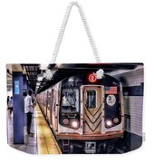 New York City Charles Street Subway Station Weekender Tote Bag