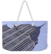 New York City - Chrysler Building 002 Weekender Tote Bag